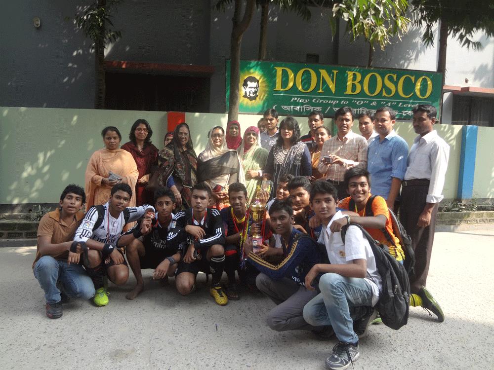 Collège Don Bosco: Don Bosco School & College Dhaka